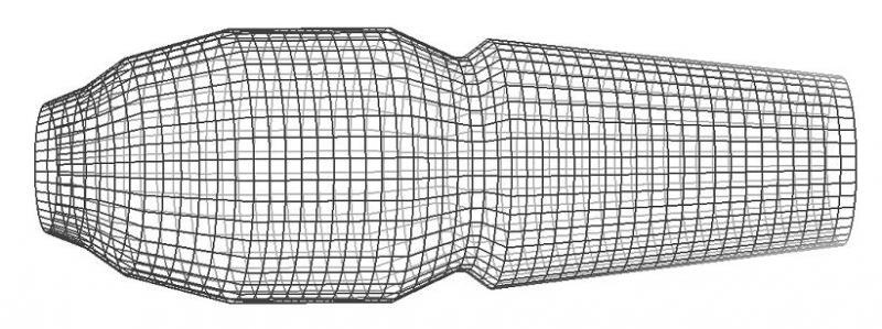 Генерация конечноэлементной сетки в SCC