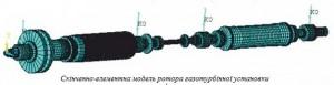 Дослідження коливань ротора газотурбінної установки
