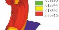 Компьютерное моделирование НДС пневматических шин при технологических и эксплуатационных нагружениях