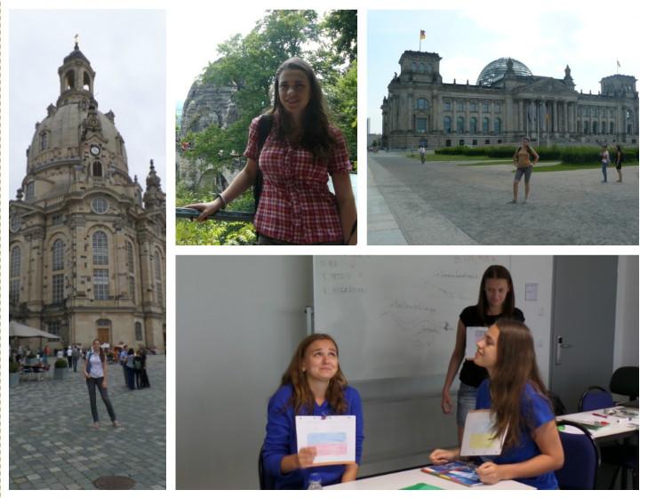 Студентка группы НТ-12д Наталия Полтавская получила стипендию от организации ДААД на посещение летних языковых курсов в г. Дрездене