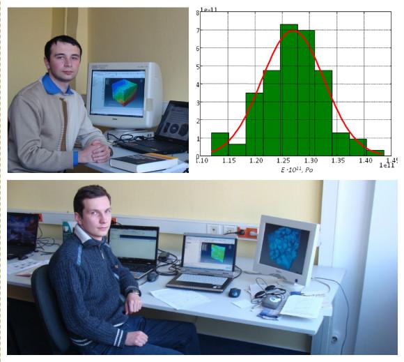 Александр Пригорнев и Алексей Водка в рамках двухмесячной программы «Восточное Партнерство» Martin-Luther-Universität Halle-Wittenberg
