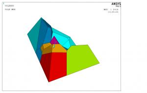 Построение модели ANSYS