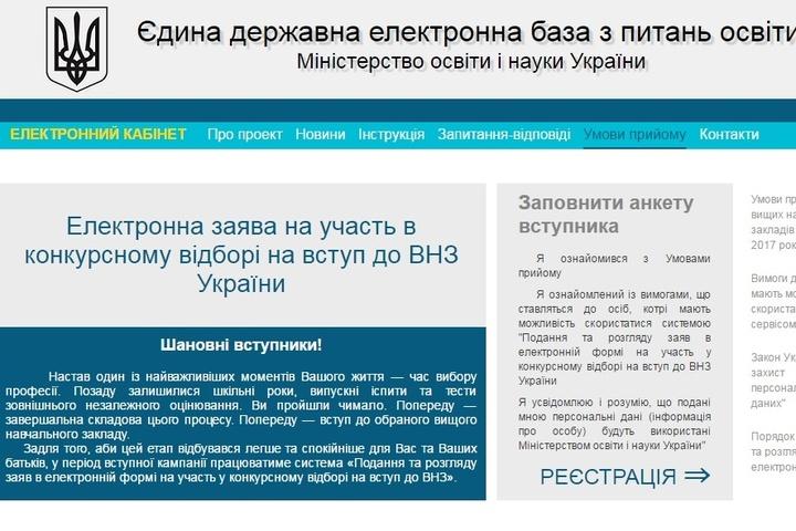 Електронний кабінет на ez.osvitavsim.org.ua