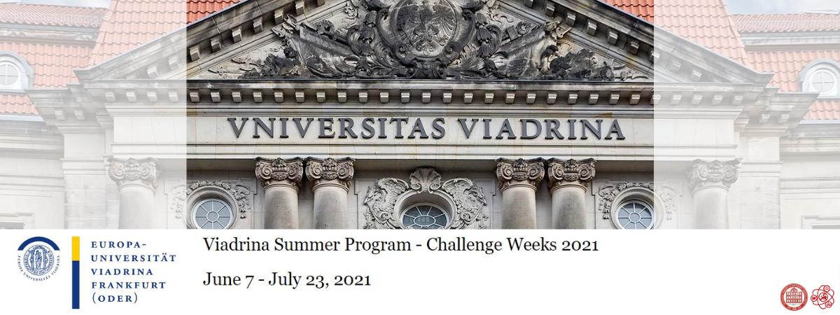 Viadrina Summer Program – Challenge Weeks 2021