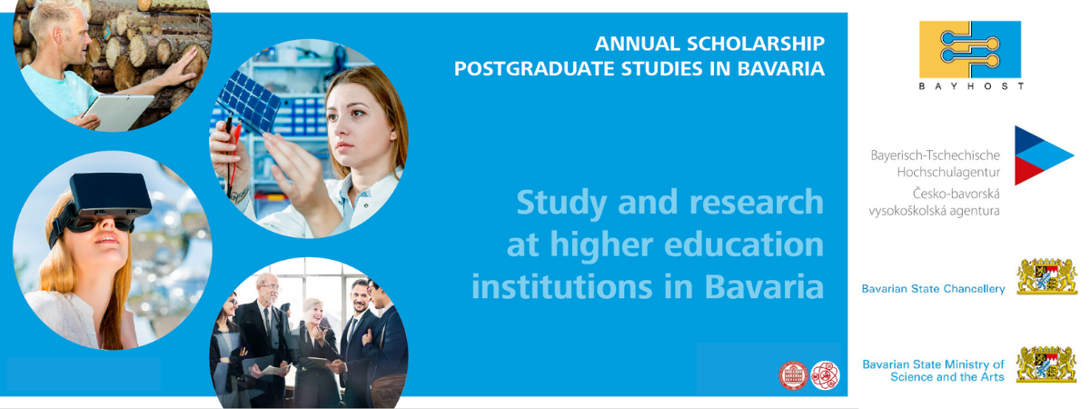 One-year scholarship program sponsored by the Free State of Bavaria 2022/23