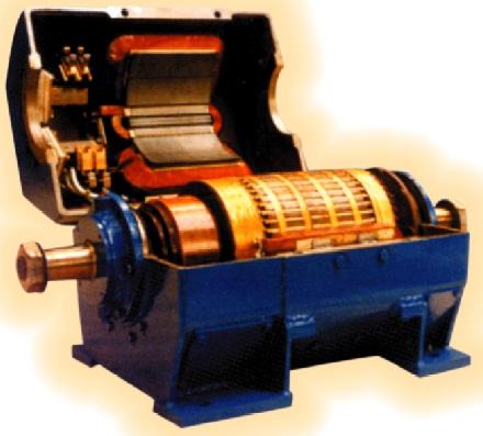 13.Машина постійного струму з рознімної станиною
