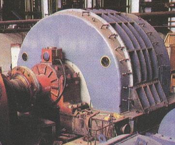 16.Великий прокатний електродвигун постійного струму (10 МВт)