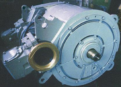 19.Тяговий двигун постійного струму для залізничного транспорту