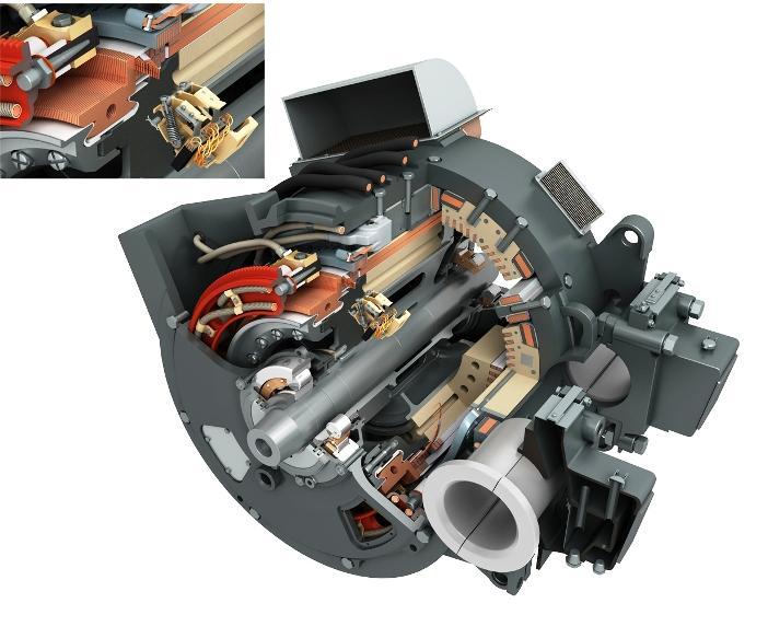 20.Устрій тягового електродвигуна