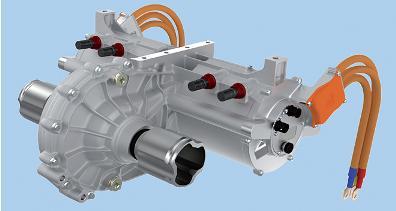 44.Здвоєні вентильно-імпульсні двигуни по 25 кВт для електромобіля