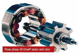 45.Статор і ротор вентильно-реактивний електродвигун