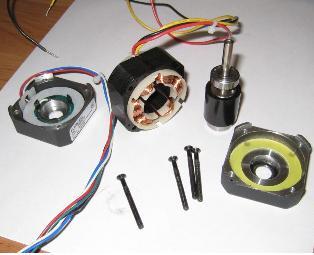51.Вентильний мікродвигун в розібраному вигляді