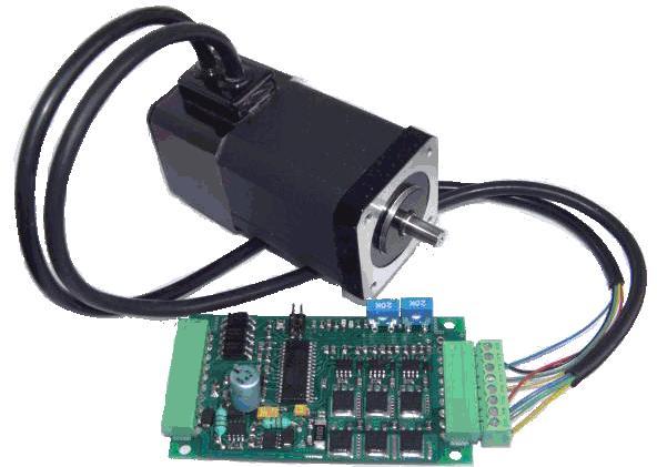53.Вентильний електродвигун з електронним блоком управління