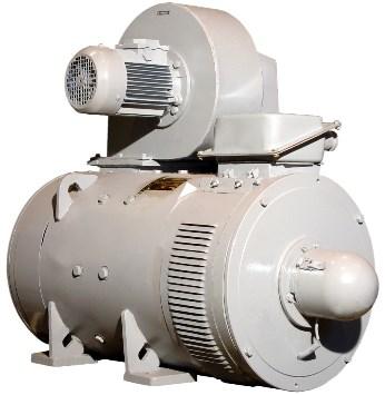 6.Електродвигун постійного струму з вентилятором-наїзником