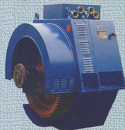 83.Синхронний генератор з приводом від двигунів внутрішнього згоряння зі статичною системою збудження