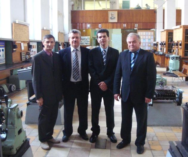 Профессор Марио Замброти, посетивший кафедру электрических машин