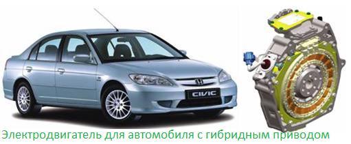 Электродвигатель для автомобиля-2
