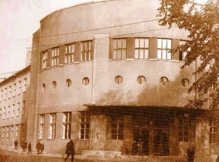 Электрокорпус в начале 30-годов – во времена П.П.Копняева