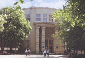 Фасад электрокорпуса во времена НТУ ХПИ