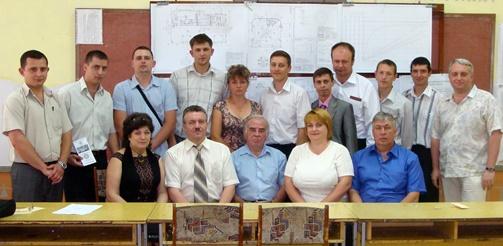 ГЭК кафедры электрических машин со свежезащищенными специалистами в Полтавском НКЦ