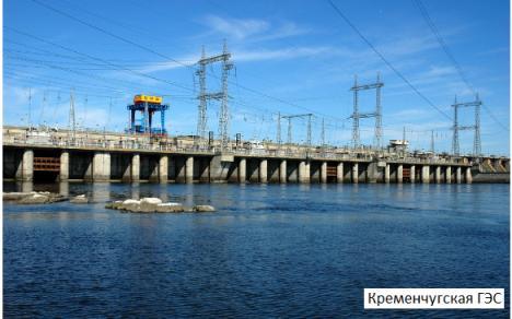 Гидроэлектростанция среднего уровня мощности на Днепре