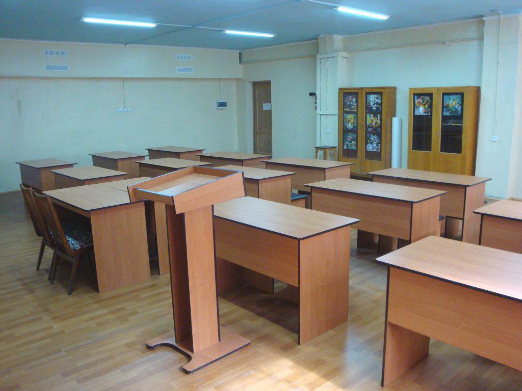 Новая аудитория для лекций и конференций