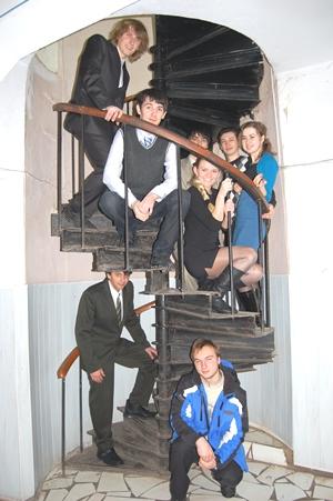 Після захисту дипломного проекту: круті сходи на кафедрі відкриває шлях вгору