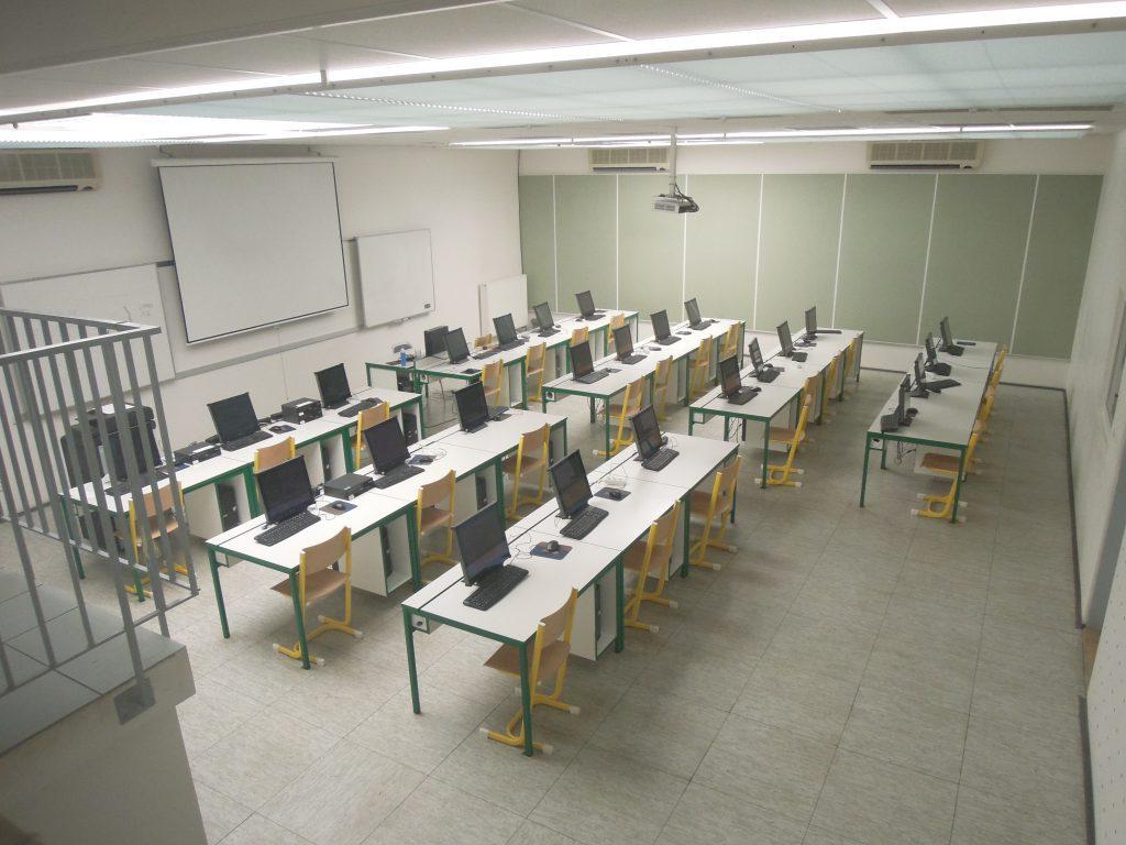 Компьютерный класс в Чешском техническом университете