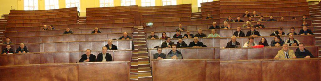 На пленарном заседании собралась уважаемая научная община из НТУ «ХПИ» и разных городов Украины