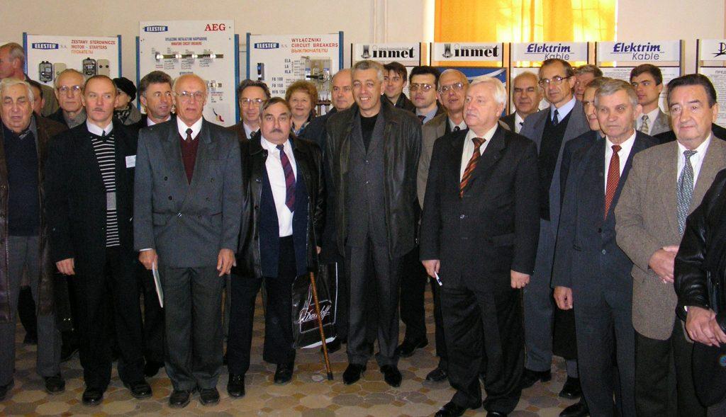 На открытии «SIEMA-2004»