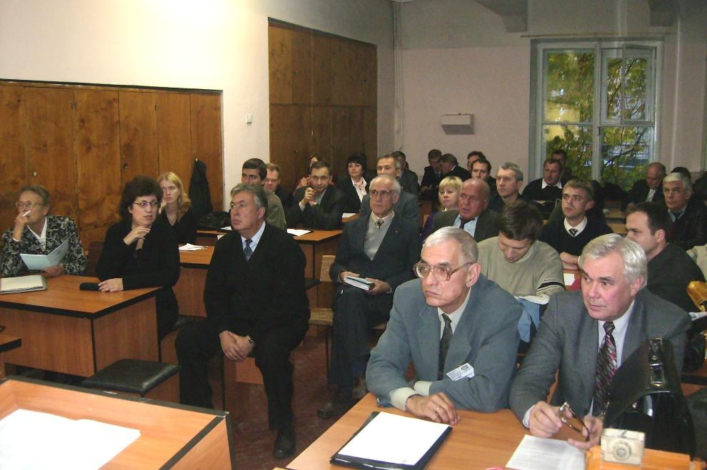 На заседании секции «Электрические машины» «SIEMA-2007» в аудитории одноименной кафедры