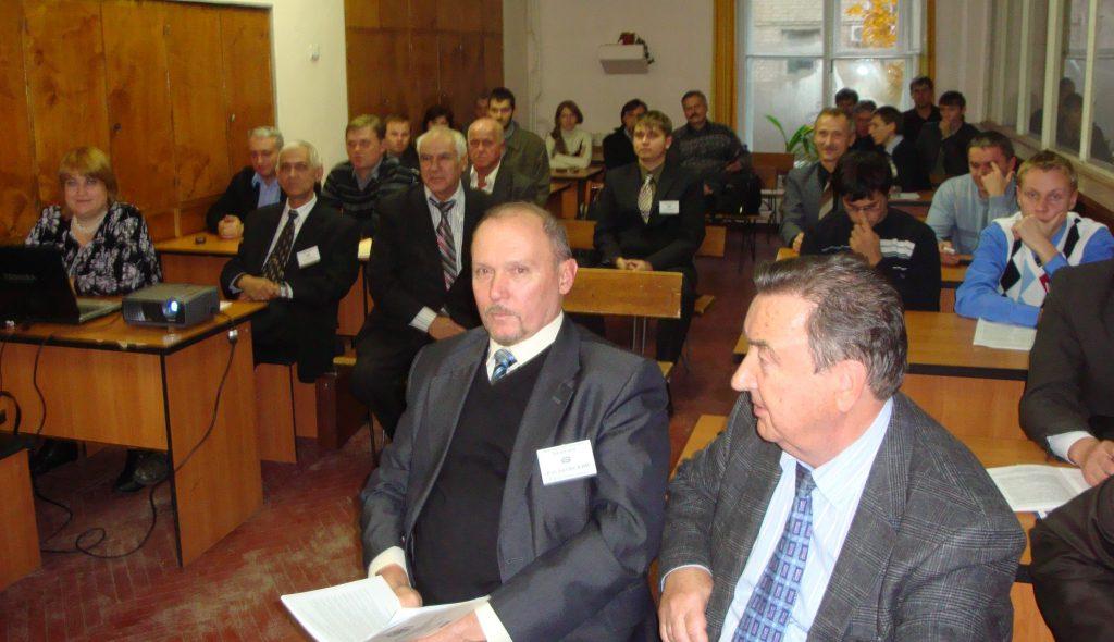 На заседании секции «Электрические машины» «SIEMA-2010» в аудитории одноименной кафедры