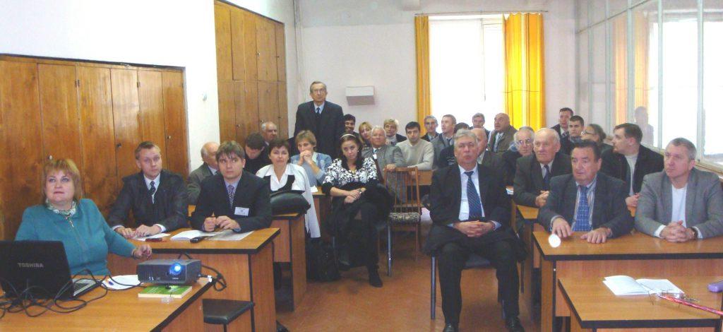 На заседании секции «Электрические машины» «SIEMA-2011» в аудитории одноименной кафедры»