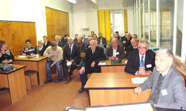 На заседании секции «Электрические машины» «SIEMA-2012» в аудитории одноименной кафедры