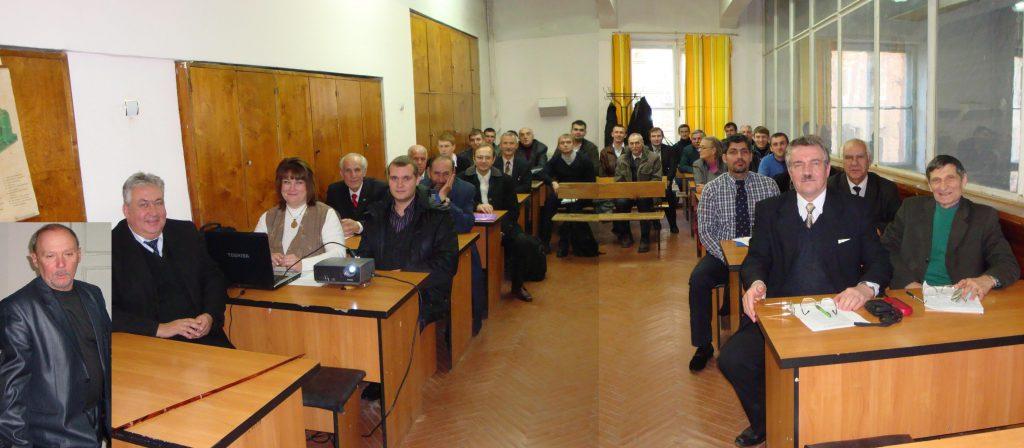 На заседании секции «Электрические машины» «SIEMA-2013» в аудитории одноименной кафедры