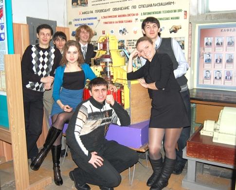 Студентам на кафедре весело и дружно живется