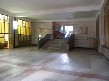 Вестибюль электрокорпуса – немного подняться на первый этаж и направо – к нашей кафедре