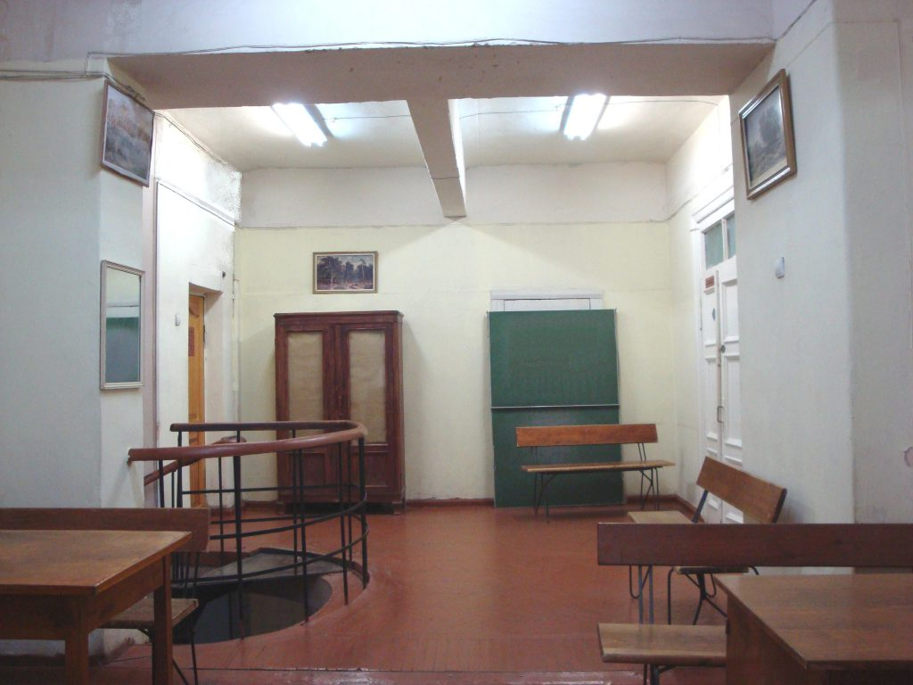 Вид на кабинет заведующего кафедры