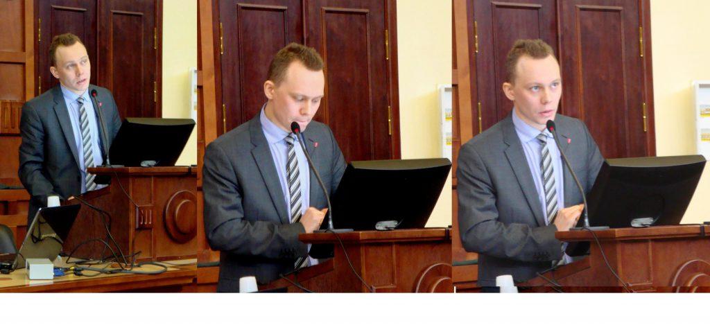 Центральная фигура заседания-защиты в трех лицах….