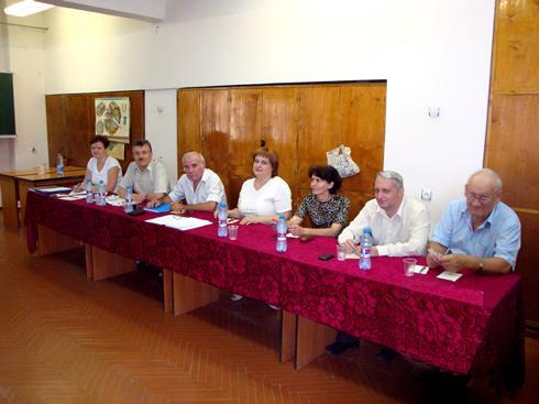Засідання державної екзаменаційної комісії по захисту дипломних проектів магістрів та спеціалістів