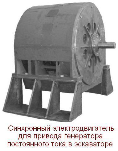 электродвигатель для эскаватора