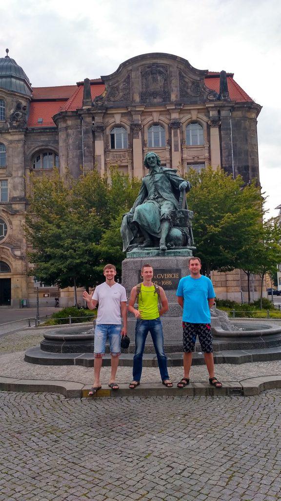 Магдебург лето 2017