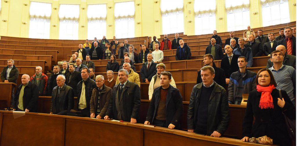 Пленарное заседание - Гимн Украины!