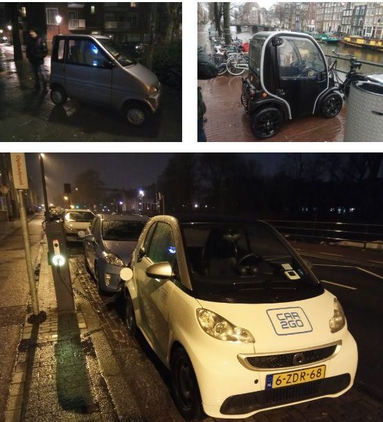 Электромобили в г. Амстердам