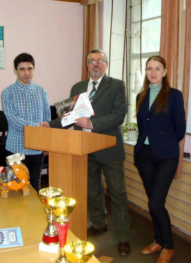 Михаил Тимин - за первое место в КНУ (Кривой Рог)