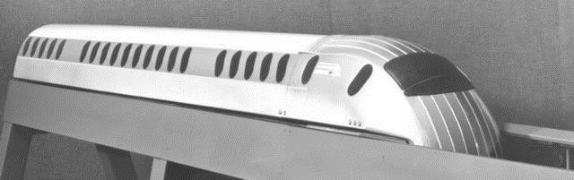 Макет магнітолевітуючого поїзда