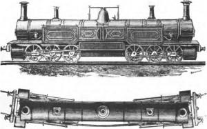 Симметричный рельс с двумя головками (1835)