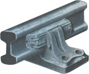 Асимметричный рельс с двумя головками (1888)