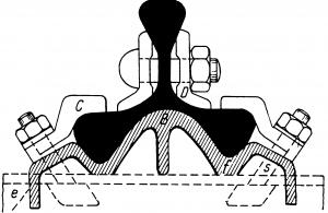 Рельс с тремя головками