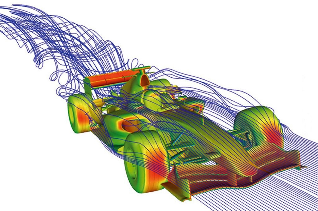 computational fluid dynamic analysis of race car wings engineering essay The front wing of a modern formula 1 car is a marvel of aerodynamic engineering and ingenuity this is perhaps one of the first practical implementations of race car aerodynamics to help increase our unique articles will utilise cutting edge cfd (computational fluid dynamics) to visualise the.